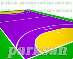 32-04 Akrilik Zemin Kaplama Uygulaması (Hentbol Sahası)